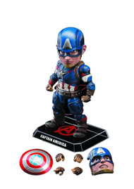 Avengers AOU EGG Attack 011 Captain America Figure -- Beast Kingdom -- JAN162606