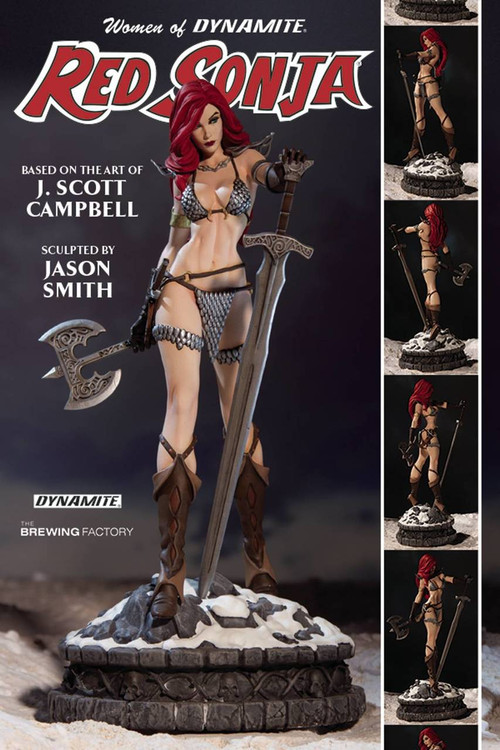 Women Dynamite Red Sonja Statue -- Conan the Barbarian -- MAY161377