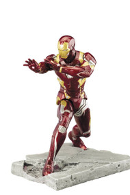Captain America Civil War Iron Man Mark 46 ARTFX+ Statue Avengers Koto -- MAY162722