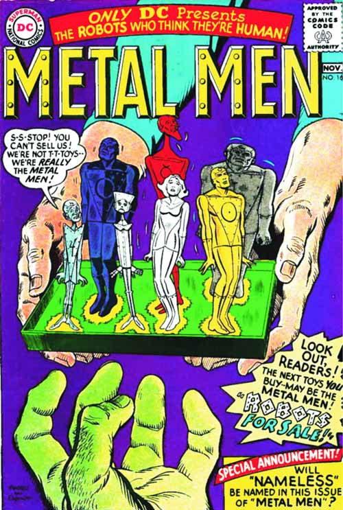 Metal Men Archives HC Volume 02 -- AUG120258