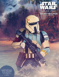 Star Wars Rogue One Shoretrooper Bust -- Scarif Gentle Giant -- JAN172924