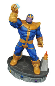 Marvel Premium Collection Thanos Statue | Avengers Diamond Select Toys -- DEC162576