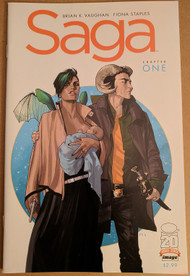 Saga #1 First Printing | Brian K Vaughan Fiona Staples Image Comics | COMIC00000169