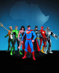 We Can Be Heroes Justice League 7 Pack Box Set -- AUG120308