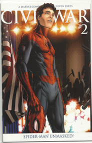 Civil War 1 2 3 4 5 6 7 Spider-Man Unmasked Death Captain America 25 | COMIC00000001-001