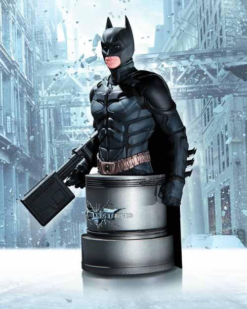 Dark Knight Rises Batman With EMP Rifle Bust -- AUG120310
