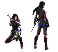 Wonder Woman Movie Variant Play Arts Kai Wonder Woman Action Figure | AUG172923