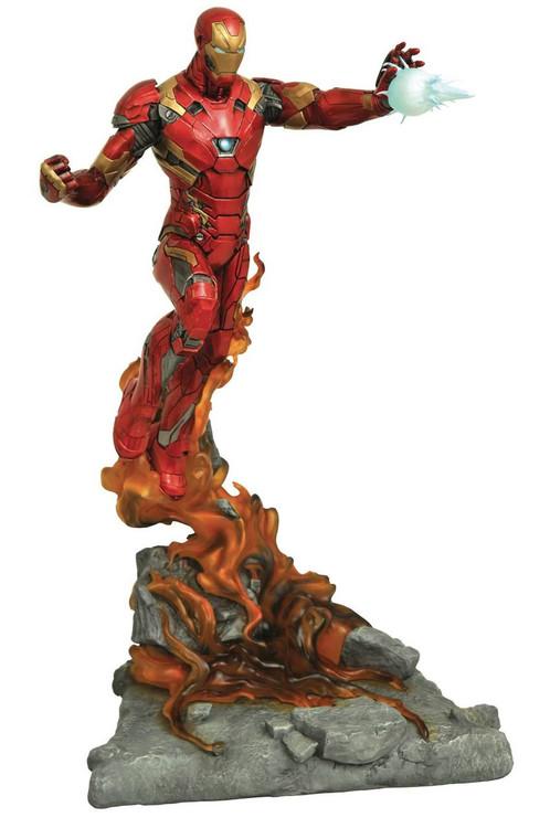 Marvel Milestones Civil War Movie Iron Man Statue Downey Gentle Giant | MAR172719