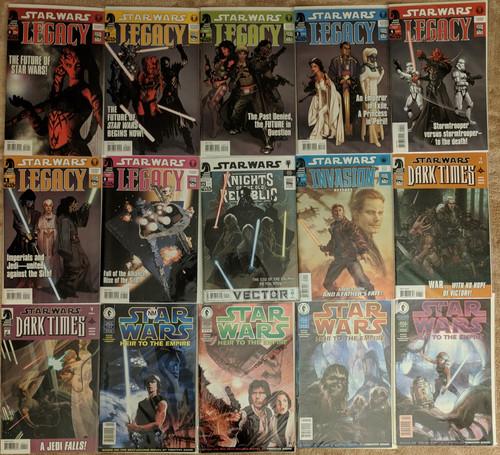 Star Wars Legacy Dark Times Rebellion KOTOR Dark Horse 50 Comics Grab Bag   COMIC00000198