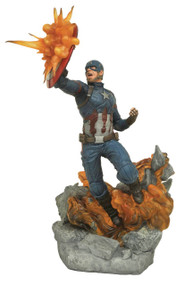 Marvel Milestones Civil War Movie Captain America Statue Gentle Giant | MAY172528