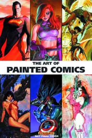 Art Of Painted Comics HC Signed & Remarked Edition -- AUG120977