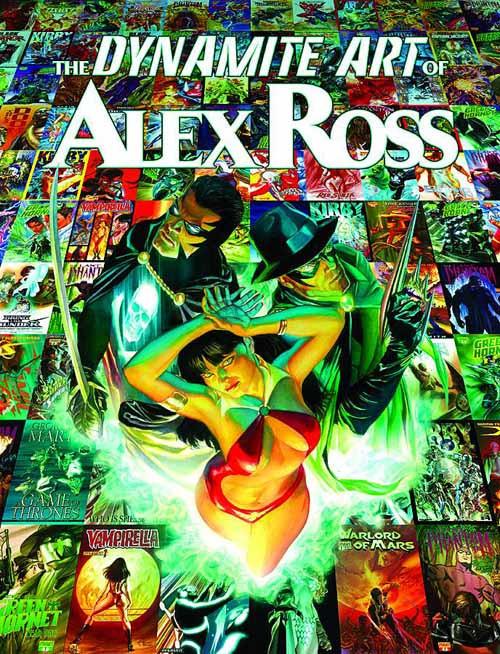 Dynamite Art Of Alex Ross HC -- AUG120978