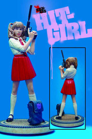 Hit Girl School Girl Statue Red Skirt Variant -- AUG121101