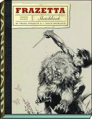 Frazetta Sketchbook HC -- AUG121383