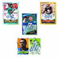 Topps 2012 Chrome Football Trading Cards T/C Box -- AUG121548