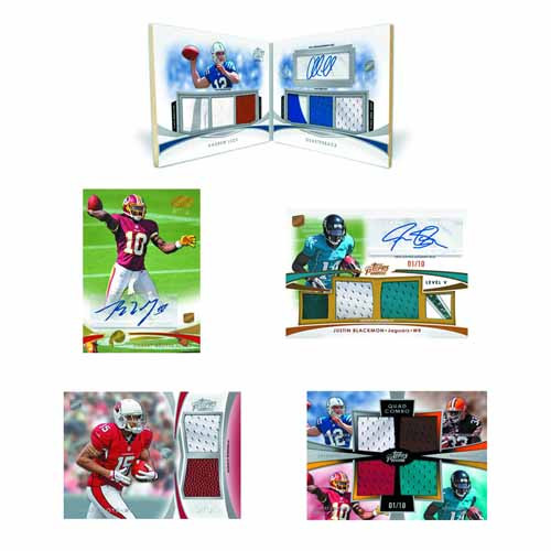 Topps 2012 Prime Football Trading Cards T/C Box -- AUG121549