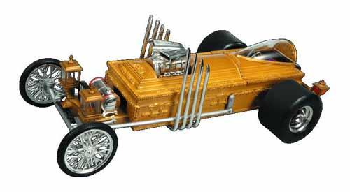 Munsters Grandpas Drag-U-La 1/18 Die Cast Vehicle -- AUG121781