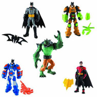 Batman Power Attack Mission Figure Action Figure Assorted -- AUG121782