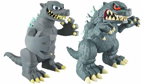 Godzilla 5-In Tokyo Vinyl Collection Figure 6-Piece Asst -- AUG121816