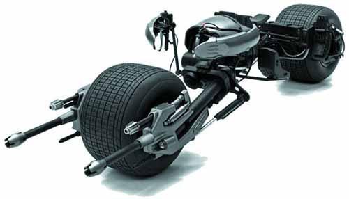 Hot Wheels Elite Dark Knight Rises 1/18 Batpod Die-Cast -- AUG121822