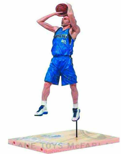 TMP NBA Series 21 Nowitzki 3 Action Figure Case--McFarlane -- AUG121831