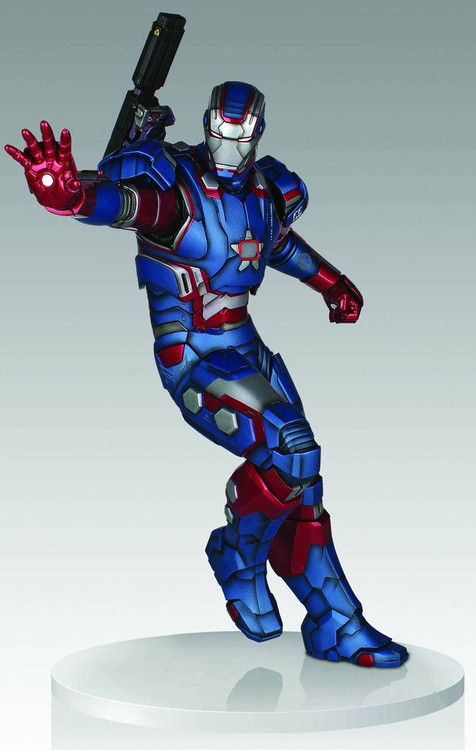 Iron Patriot 1/4 Scale Statue -- Marvel Avengers Iron Man Gentle Giant -- JAN142017