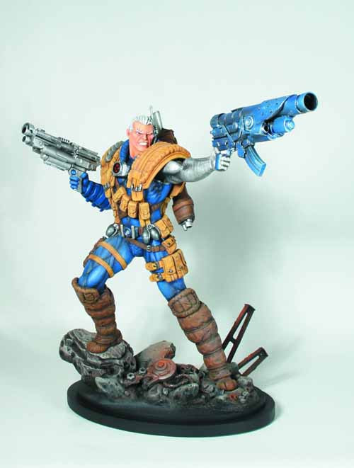 Cable Classic Statue -- X-Force X-Men Bowen Designs -- AUG121849
