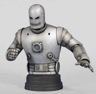 Gentle Giant Iron Man Classic Silver Mini-Bust -- Avengers -- AUG121852