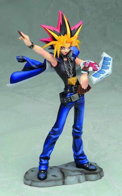 Yu-Gi-Oh Yami Yugi Ani-Statue Duel w/ Destiny Version -- AUG121889