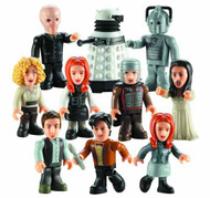 Doctor Who Char Building 36-Piece Mini Figure Ds Series 02 -- AUG121915