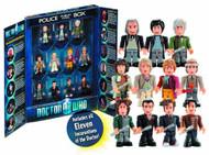 Doctor Who Char Building 11 Doctor Mini Figure Set -- AUG121918