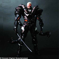 Metal Gear Solid 2 Play Arts Kai Solidus Snake Act Figure -- AUG121935