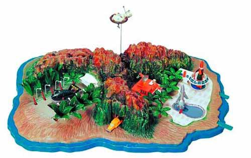 Tracy Island Model Kit -- AUG121958