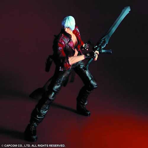 Devil May Cry 3 Play Arts Kai Dante Action Figure -- AUG121959