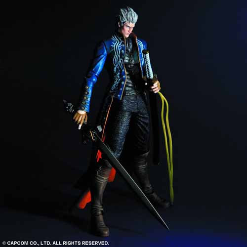 Devil May Cry 3 Play Arts Kai Vergil Action Figure -- AUG121960