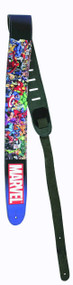 Marvel Universe Leather Guitar Strap -- AUG122066