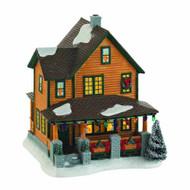 Christmas Story Village Ralphies House -- AUG122100