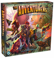 Adventurers The Temple Of Chac Board Game -- AUG122112