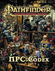 Pathfinder Roleplaying Game RPG NPC Codex -- AUG122129