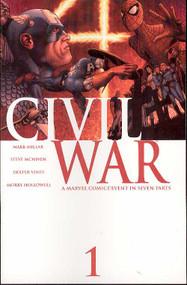 Civil War 1, 2, 3, 4, 5, 6, 7 Set 4 Variants 1 Extra Millar Mcniven -- COMIC00000003