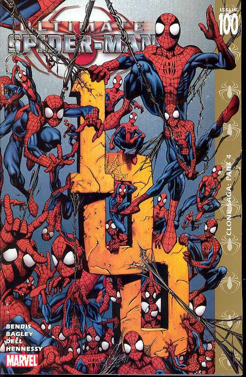 Ultimate Spider-Man 97, 98, 99, 100, 101, 102, 103-111 Bendis Bagley -- COMIC00000014