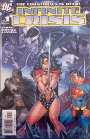 Infinite Crisis 1, 2, 3, 4, 5, 6, 7 Set 11 Extras Jimenez Perez Lee -- COMIC00000035