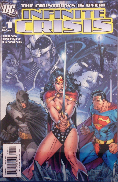 Infinite Crisis 1, 2, 3, 4, 5, 6, 7 Set 6 Extras Jimenez Perez Lee -- COMIC00000037