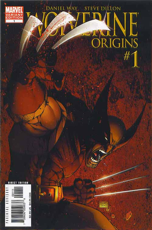 Wolverine Origins 1, 2, 3, 4, 5, 6, 7, 8, 9, 10, 11, 12, 13, 14, 15-16 -- COMIC00000068