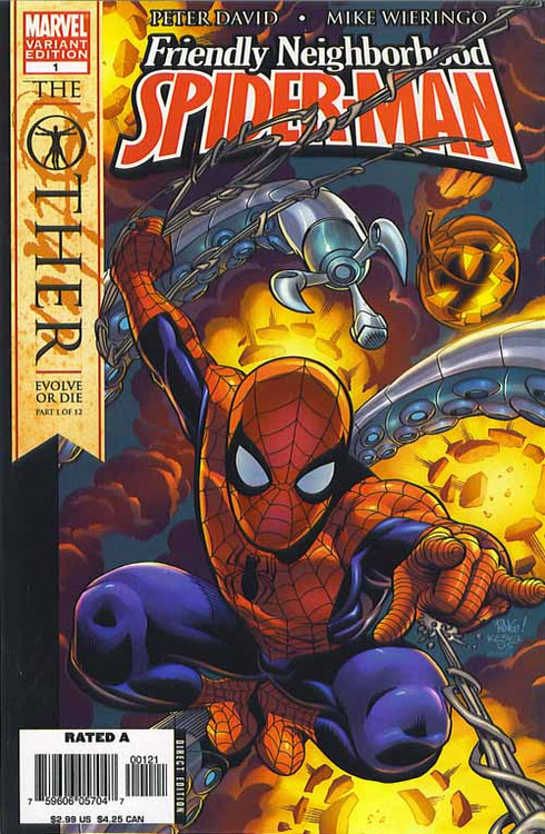Spider-Man Other Friendly 1, 2, 3, 4 Knights 19-22 Amazing 525-528 -- COMIC00000097