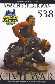 Amazing Spider-Man 538 Civil War NY Comic Con Midtown Variant -- COMIC00000101