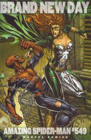 Amazing Spider-Man 549 David Finch Variant Brand New Day BND -- COMIC00000103