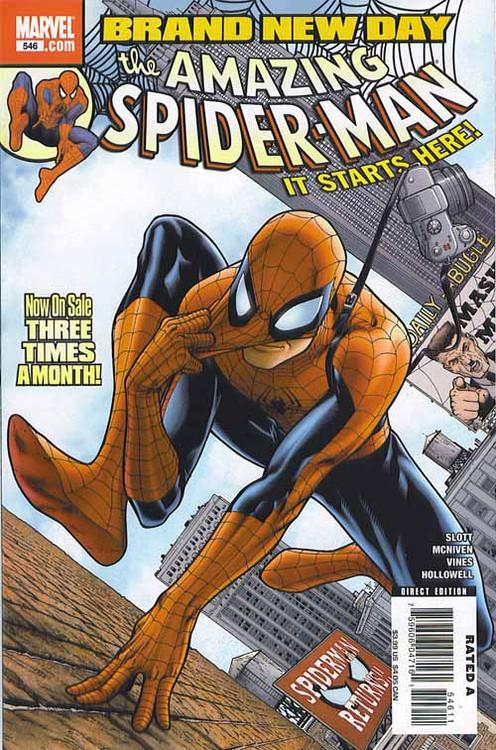 Amazing Spider-Man 546, 547, 548, 549, 550, 551, 552, 553, 554-557 Bnd -- COMIC00000112