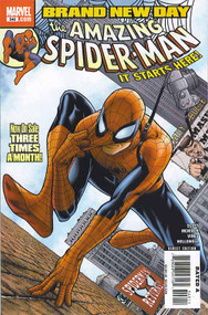Amazing Spider-Man 546, 547, 548, 549, 550, 551, 552, 553, 554-555 Bnd -- COMIC00000113