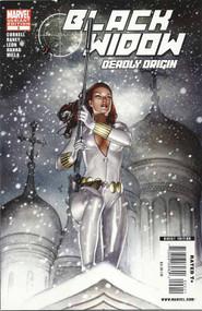 Black Widow Deadly Origin 2 -- Adi Granov Variant Avengers Iron Man -- COMIC00000120